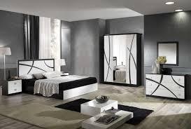 chambre noir et blanc design enchanteur chambre noir et blanc et chambre coucher blanc design