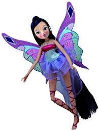 Winx Club Halloween Costumes Winx Club Harmonix Power Musa Doll 28cm Amazon Uk Toys