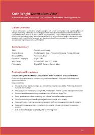 How To Develop A Resume Resume Template Keep The Graphic Design In Control Throughout 87