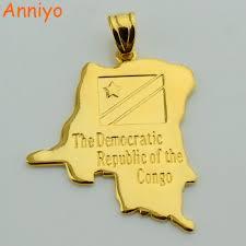 Republic Of Congo Map Aliexpress Com Buy Anniyo Democratic Republic Of The Congo