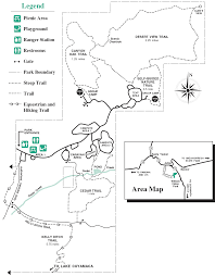 Joshua Tree Campground Map Difficulty Various Trails At Various Lengths San Diego Hikes