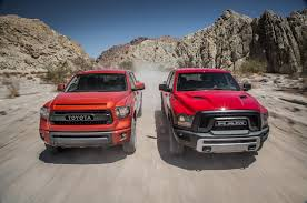 Rebel Mud Truck - 2015 ram 1500 rebel 4x4 hemi vs 2015 toyota tundra trd pro comparison