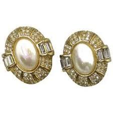 vintage earrings vintage christian earrings 60 for sale at 1stdibs