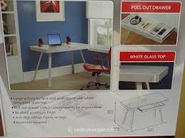 tresanti sit stand desk costco costco desk glass top desk ideas