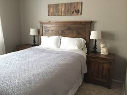 Do It Yourself Headboard White Headboard And Nightstands Diy Projects