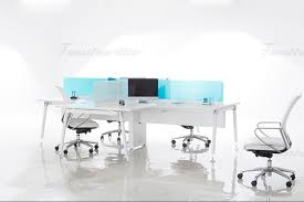 White Connect L Shaped Marvel ResourcesFeather Lite Office