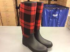 womens rubber boots size 9 s coach tristee shoes black matte rubber waterproof