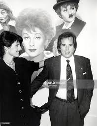 lucie arnaz and desi arnaz jr during lucy a tribute to lucille ball picture id115409268