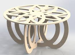 Laser Cutting Table Center Table Design Vectors Dxf Files Cnc Router And Laser Cutting