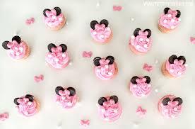 minnie mouse cupcakes minnie mouse cupcakes overhead jpg