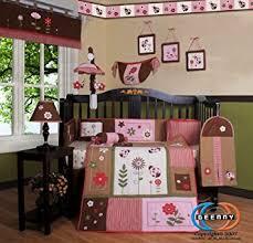 Boutique Crib Bedding Geenny Boutique Crib Bedding Set Ladybug Flower 13