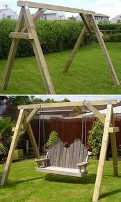 Wooden Garden Swing Seat Plans by Best 25 Wood Swing Ideas On Pinterest Tree Swings Diy Swing