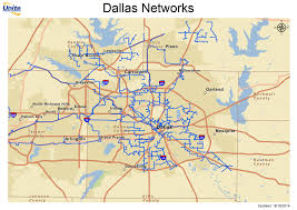 Dallas Texas On Map by Metro Fiber Maps Texas Telecom Ramblings