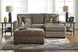 tanacra tweed sofa chaise u0026 ottoman with storage 14602 18 11