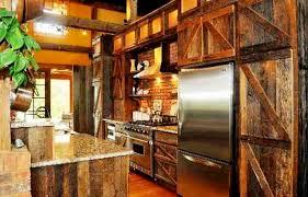 rustic farmhouse kitchen ideas barn door decorating ideas rustic barn door kitchen cabinets