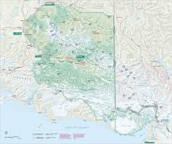 st map brochures wrangell st elias national park preserve u s
