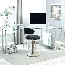 Home Office Glass Desks Cool Glass Desk A Home Office Furniture Glass Desk Ideas