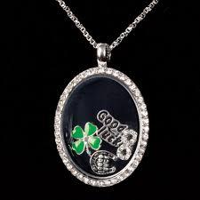 floating locket necklace images Floating locket necklace lucky solid oak online jpg