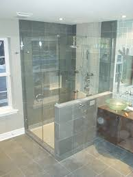 bathroom frameless shower doors frameless vs framed shower