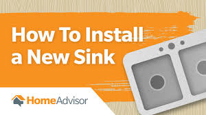 installing a new sink how to install a new sink kitchen sink replacement guide youtube