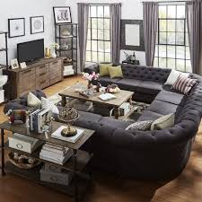 Best  U Shaped Sectional Sofa Ideas On Pinterest U Shaped - Gray living room furniture sets