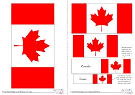 flag printable modern canadian personal crap