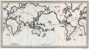 Blank Map Of The 13 Colonies by Alexander Von Humboldt