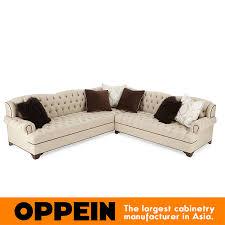 Modern Corner Three Seats Fabric Sofa Modern Furnituresimple Sofa - Simple sofa designs