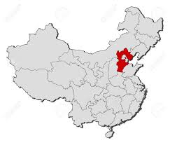 China Blank Map by Political Map Of China With The Several Provinces Where Hebei