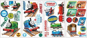 Thomas The Tank Wall Mural Amazon Com Thomas The Tank Engine Wall Decals Home U0026 Kitchen