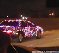 how to put christmas lights on your car if you put christmas lights on your car i envy you