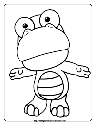 baby disney cartoon characters coloring pages pororo the little