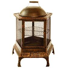 chiminea cast iron outdoor fireplaces outdoor heating the