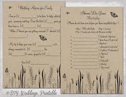 wedding mad libs template wedding mad libs template printable rustic diy butterfly