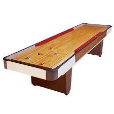 Shuffle Board Tables Bumper Shuffleboard Tables Venture 12 Foot Classic Cushion Bumper
