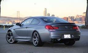 bmw m6 coupe 2013 bmw m6 coupe drive review car and driver
