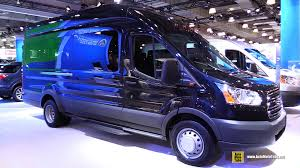 2015 Ford Transit 350 Hd Xlt Passenger Van Exterior And Interior