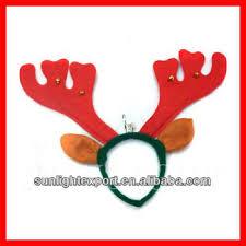 deer headband hot sale ear christmas deer antler headband with bell buy antler