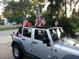 jeep american flag american flag mount wrangler