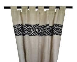 How To Sew Burlap Curtains Burlap Curtains