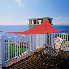 Canopy Triangle Sun Shade by 12 U0027 X12 U0027x12 U0027 Sun Shade Sail Uv Top Outdoor Canopy Patio Lawn Red
