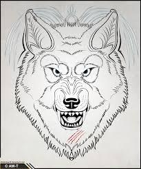 wolf v2 by absolutewolf on deviantart