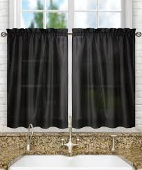 decoration curtains drapes blue gingham kitchen curtains