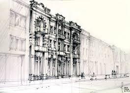 modern architecture drawing kyprisnews