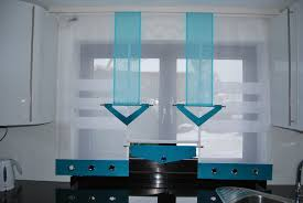 gardinen für die küche bogen gardinen küche