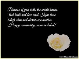 wedding quotes to parents happy wedding anniversary quotes for parents happy anniversary