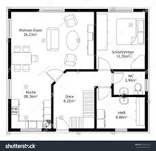 technical drawing home floor plan stock illustration 563319232 technical drawing home floor plan