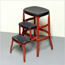 step stool chair counter height step stool chair free folding step