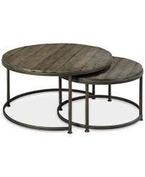 Circular Patio Seating Coffee Table Brown Oval Traditional Oak Outdoor Round Coffee Table