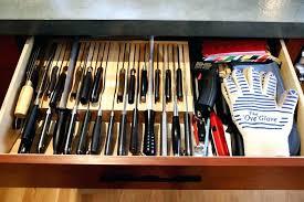 kitchen knife storage ideas kitchen knife storage drawer organizer sets plans collection ideas